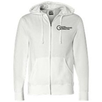 Zip Up - Black on White