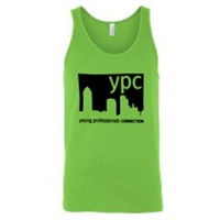 Tank Top - Black on Neon Green