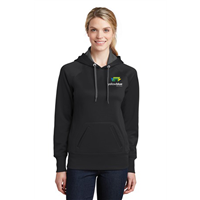 Sport-Tek Ladies Tech Fleece Sweatshirt Black