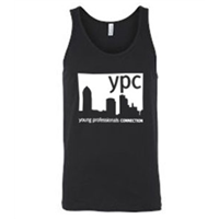 Tank Top - White on Black