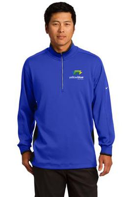 Nike Golf Dri FIT Half Zip Cover Up Royal