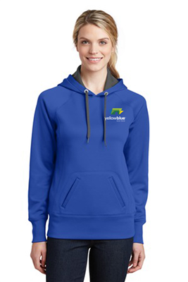 Sport-Tek Ladies Tech Fleece Sweatshirt Royal