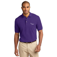 Short Sleeve Polo Purple