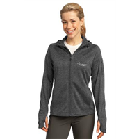 Ladies Tech Fleece Full Zip Graphite Heather