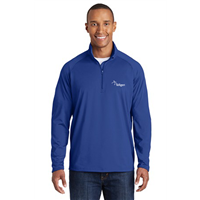Sport Wick 1/4 Zip True Royal